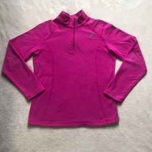 Xl youth pink long sleeve north face